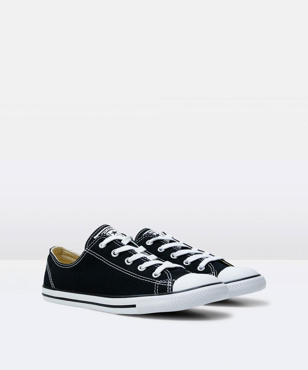 6c3519af7f Converse Chuck Taylor All Star Dainty Leather Sneakers White ...