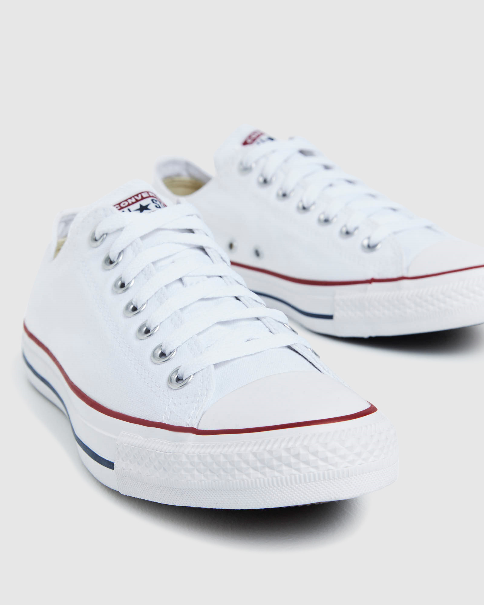 f6e0f549bd6 Converse Chuck Taylor All Star Lo Canvas Sneakers White Shoe ...