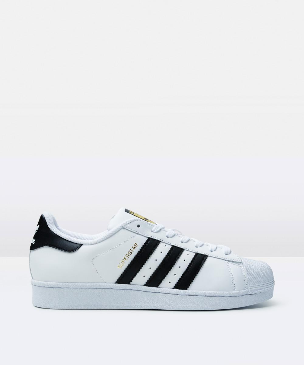Image of Adidas - Superstar Shell Toe Sneaker White