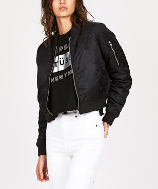 fdf7ef9d1 Stussy BOMBER JACKET | Jackets | Clothing | Shop Womens | General ...