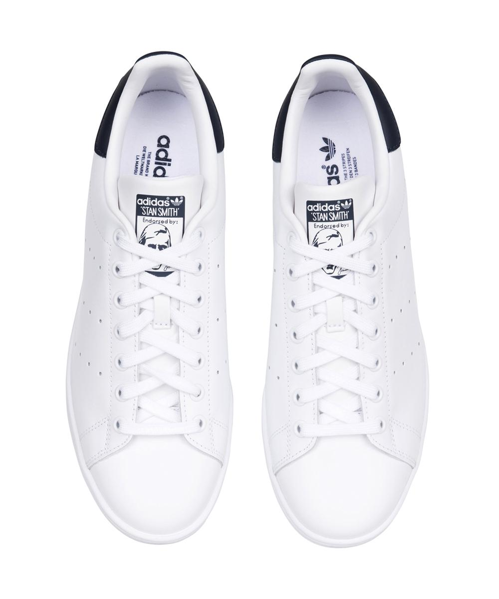 huge selection of 497e0 a3ba0 Adidas STAN SMITH - WHITE NAVY   Footwear   Shop Mens   General Pants Co.