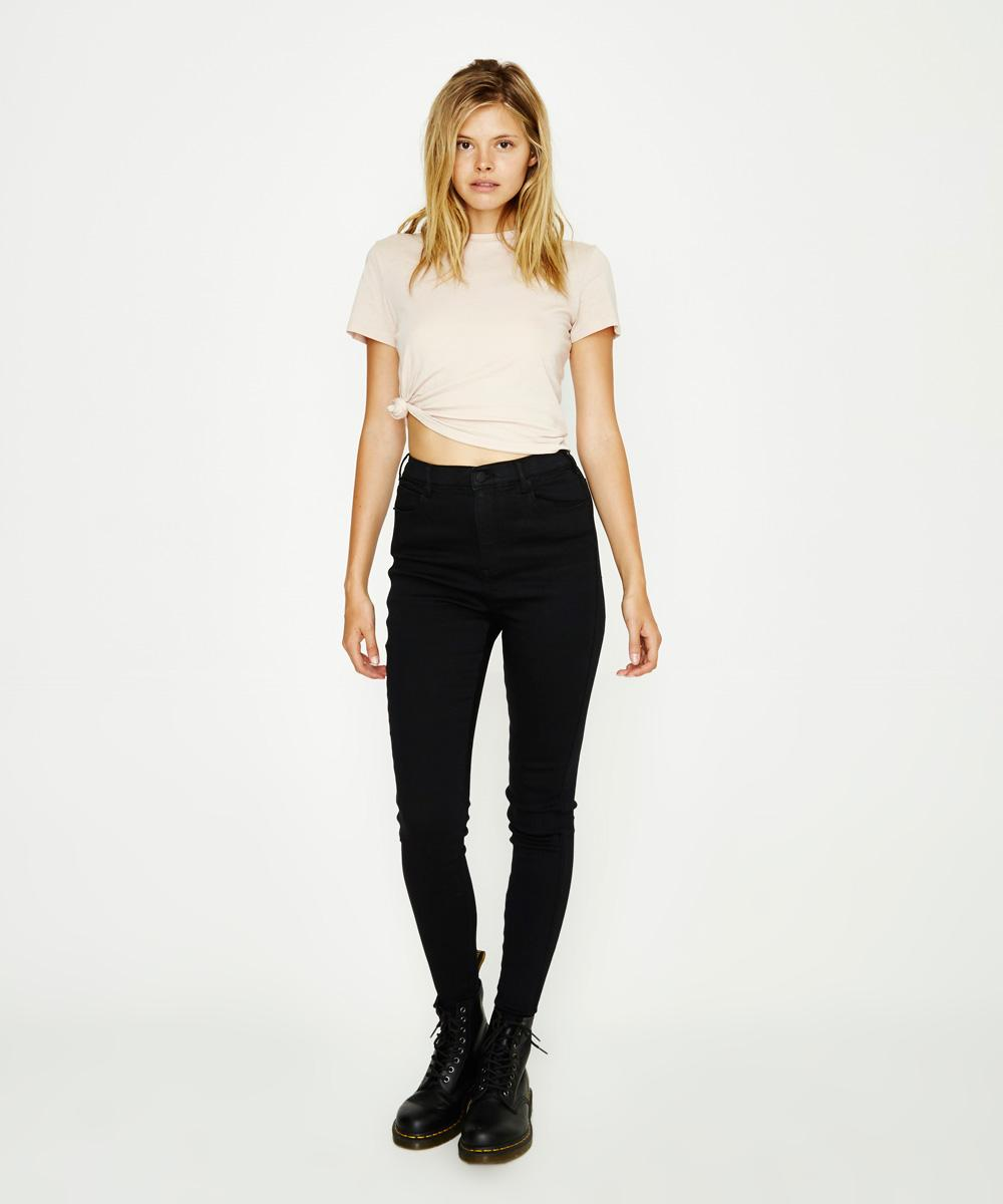 Neon Hart - Patti High Waist Super Skinny Black Jean 13195500019