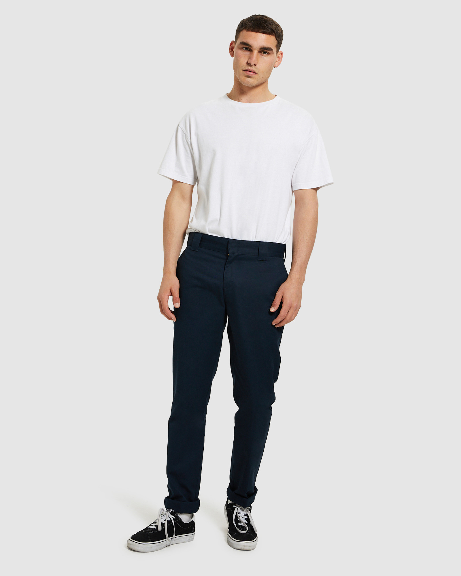 Dickies 872 Navy Pants Chinos Clothing Shop Mens General Tendencies Short 28 Online