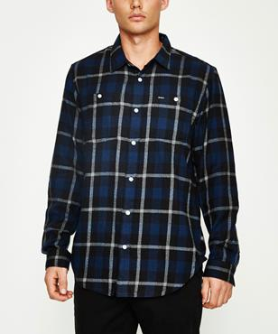 63a083e76 RVCA Daggers Plaid Sherpa Jacket | Jackets | Clothing | Shop Mens ...