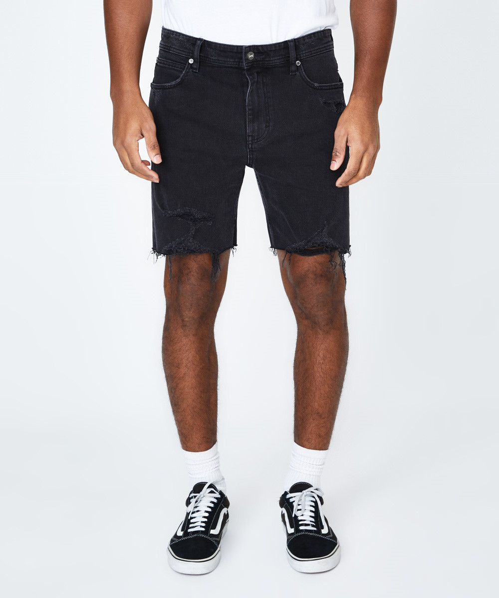 L2 Tour Short Raven Damage Black by General Pants Co