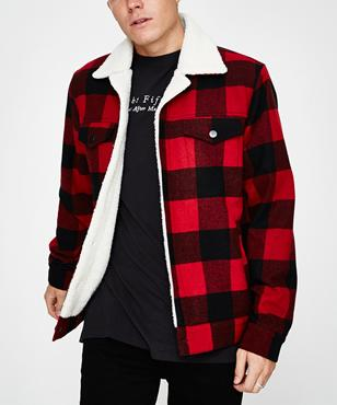 a61b1bc138 Insight Lumber City Jack Red Check Red | Jackets | Clothing | Shop ...