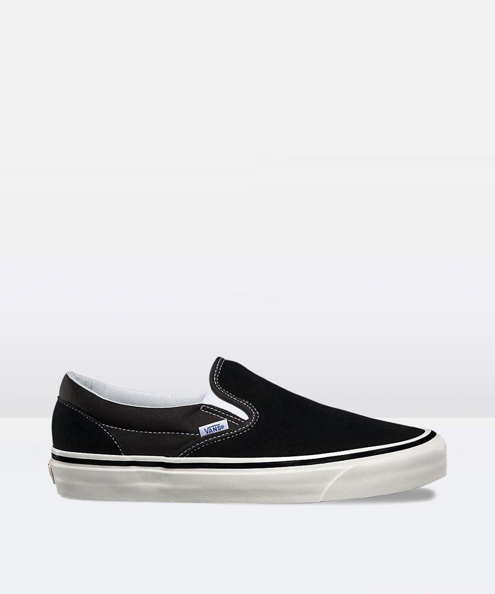 Vans Classic Suede Slip On 98 Dx Anaheim Black Shoe  c457c8c5d