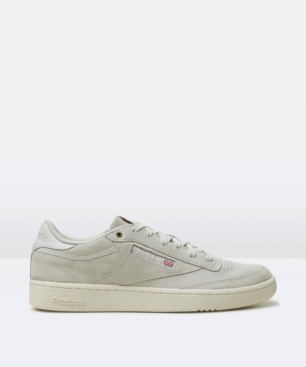 a2ad7740076f Reebok Club C 85 Mcc Pebble Chalk Shoe