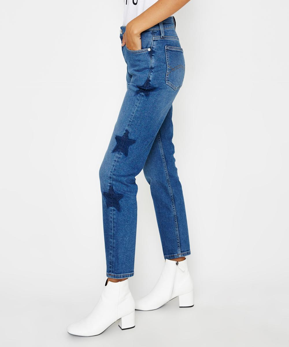 0eebaa23 Tommy Jeans High Rise Slim Jean Izzy Blue | Jeans | Clothing | Shop Womens  | General Pants Co.