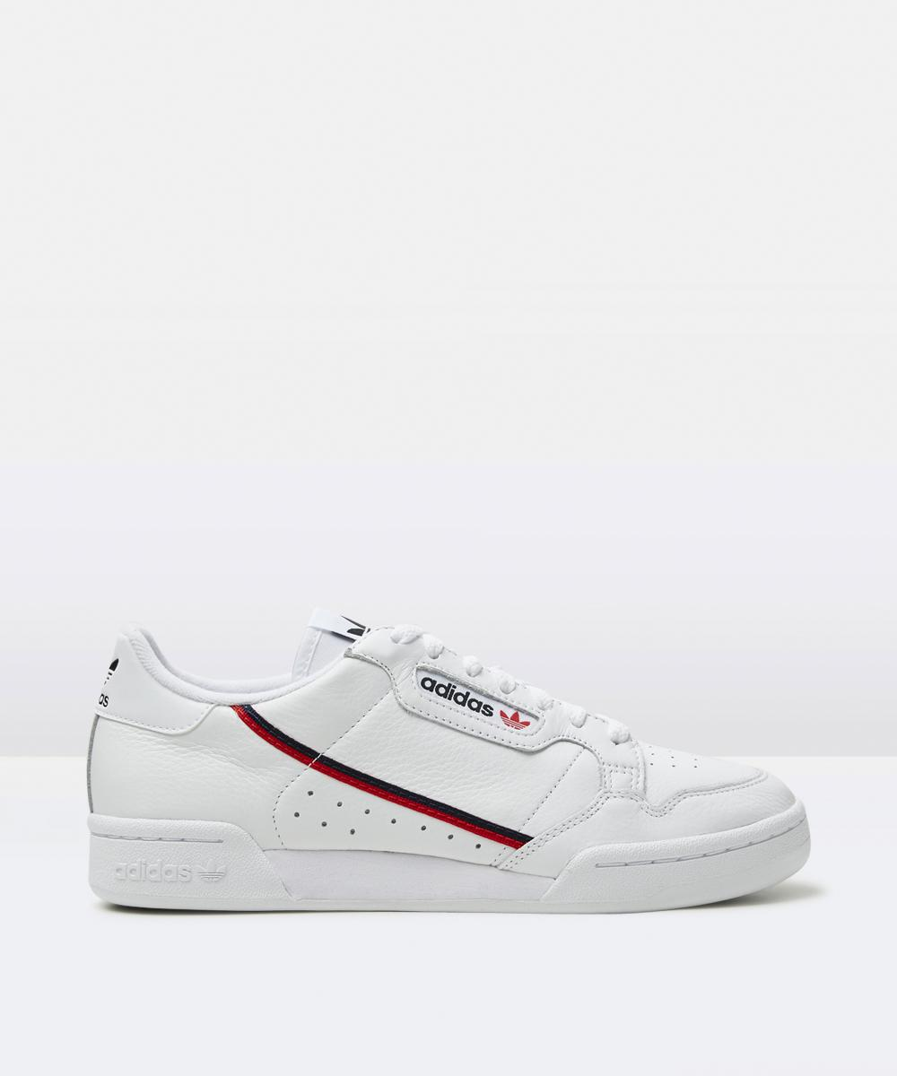 Image of Adidas - Continental 80 Sneakers White