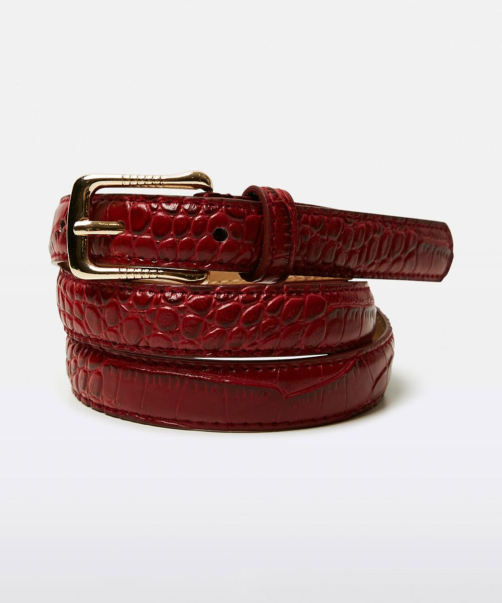 Don't Ask Amanda - Croc Belt Red 17183200022