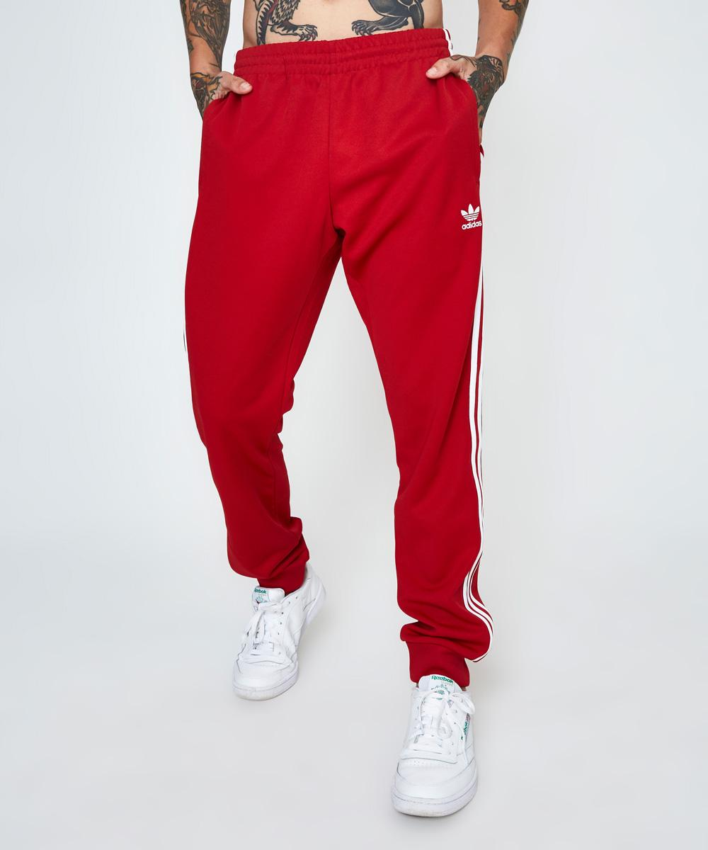 Image of Adidas - Superstar Trackpant Power Red
