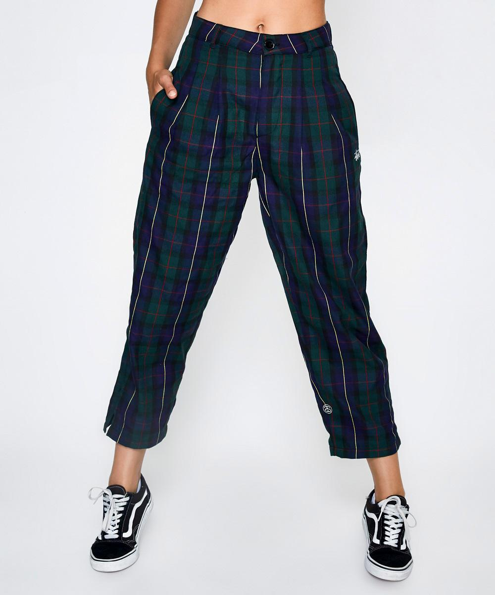 Keller Check Pant Green by General Pants Co