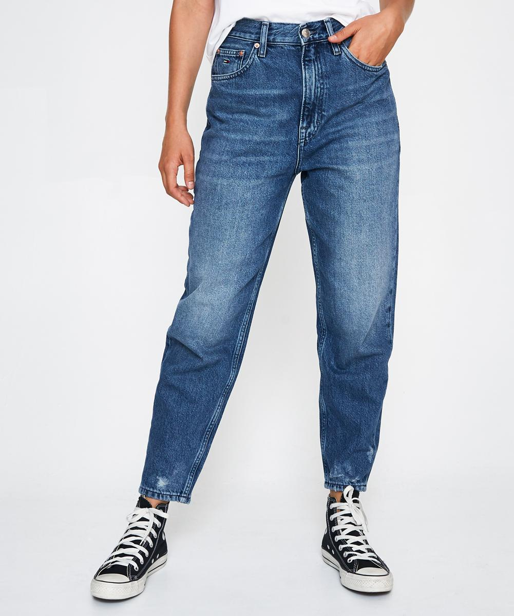 High Rise Tapered Jean Mid Blue by General Pants Co