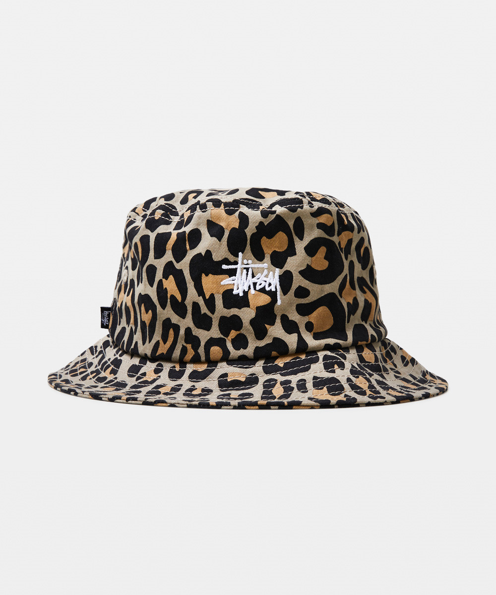 Graffiti Bucket Hat Leopard