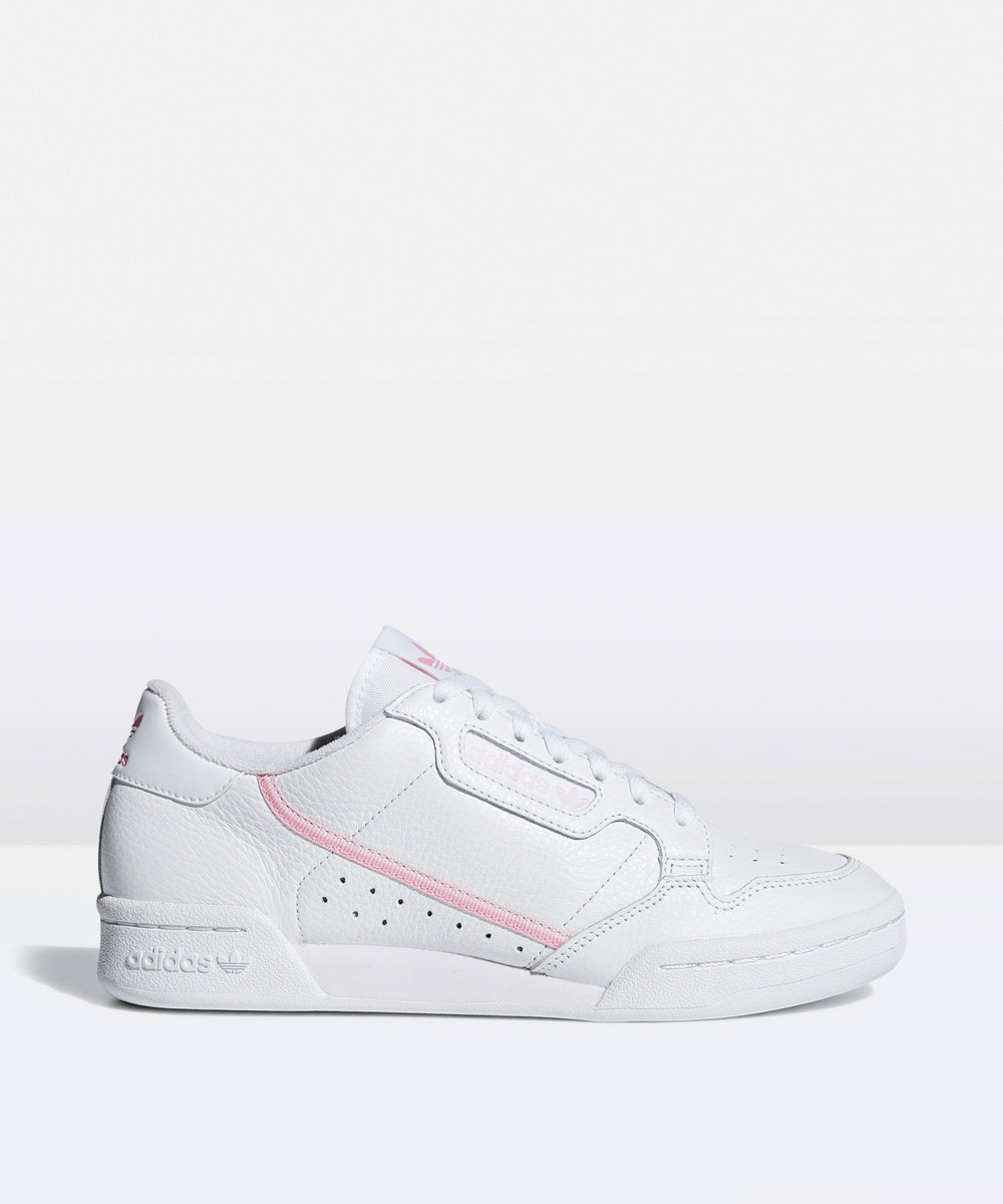 Image of Adidas - Continental 80 W Sneaker White/true Pink