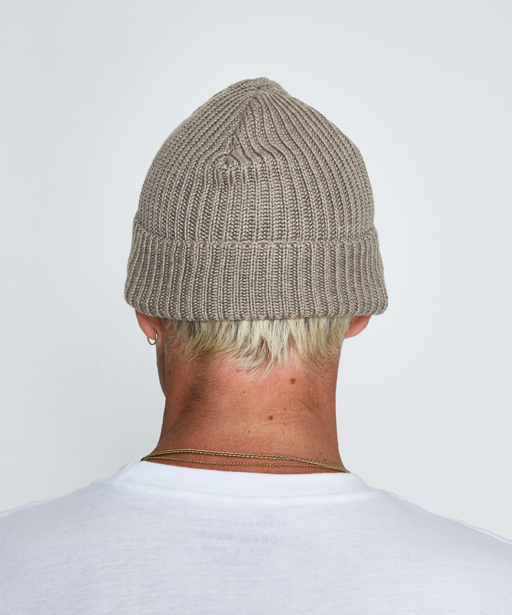 0901979412c Patagonia Fishermans Rolled Beanie Ash Tan