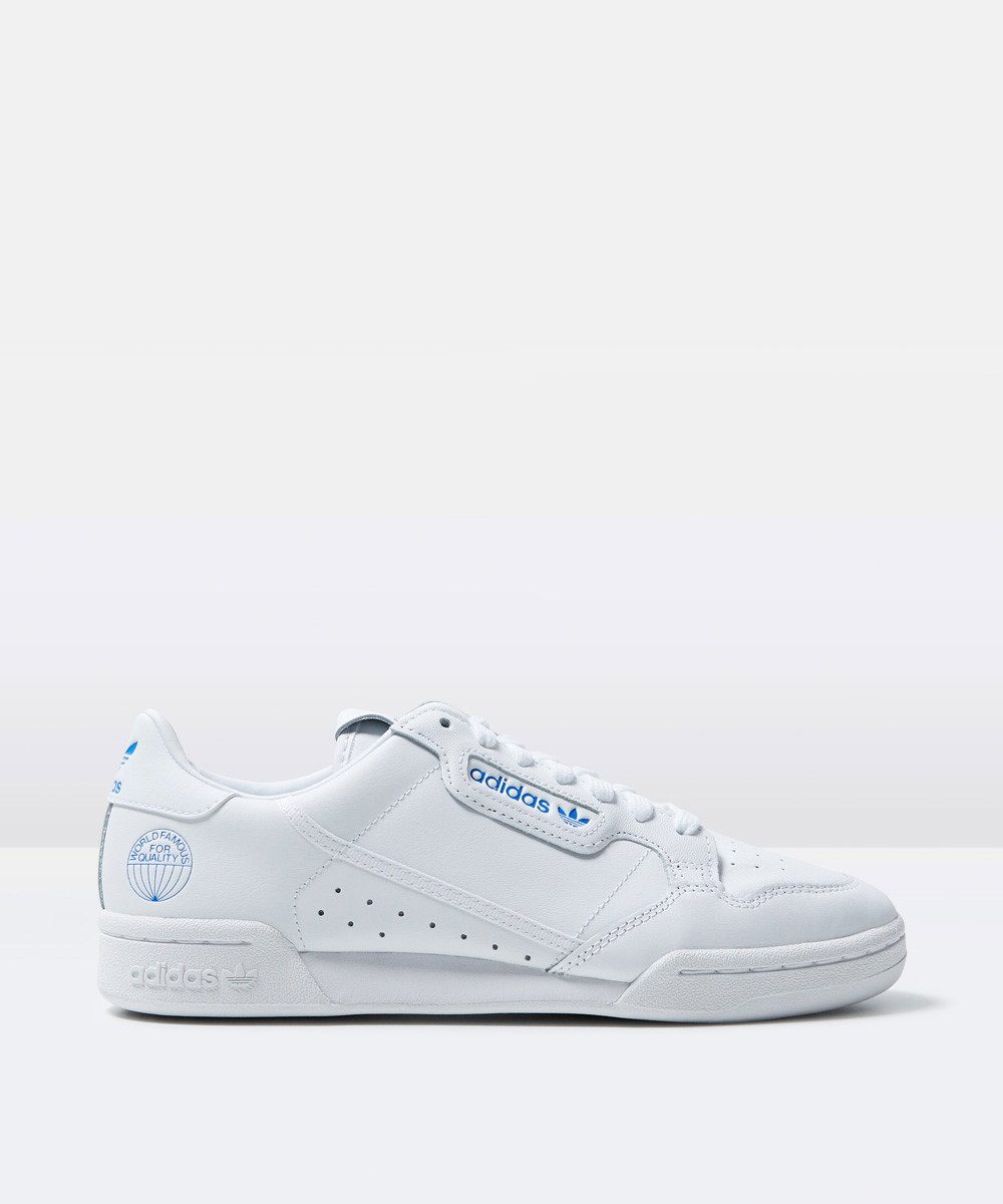 Image of Adidas - Continental 80 White/blue
