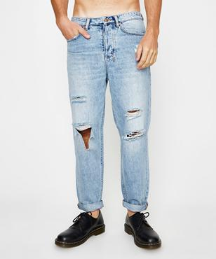 new items high quality exquisite style Ksubi Bullet Tru Blue Ripped | Jeans | Clothing | Shop Mens ...