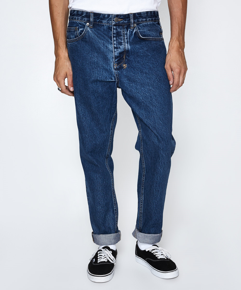 8a40478314f Ksubi Wolf Gang Old Skool Blue Jean